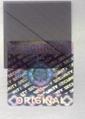 解码隐形防伪标 透明镭射贴纸 荧光防伪商标 1