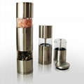 2 in 1 manual pepper mill grinder