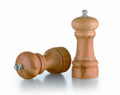 bamboo manual pepper mill grinder