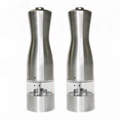 chargeable electric salt and pepper grinder