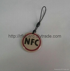 13.56Mhz type 2 Iso14443a NFC Epoxy Tag Compatible with NFC Phones