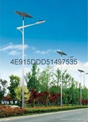 新农村建设云川光电30WLED太阳能路灯