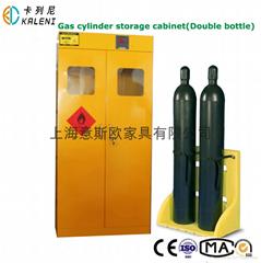 三瓶气瓶存储存储柜