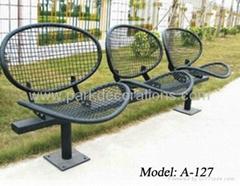 戶外公園椅