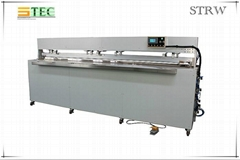Automatic roller blind fabric welding machine