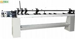 Manual venetian blind slat forming,cutting ,punching machine