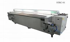 Ultrasonic roller blind fabric cutting machine
