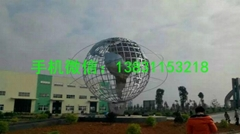 滄州不鏽鋼地球儀雕塑