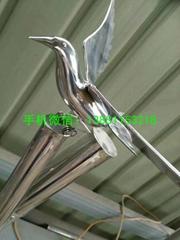 石家庄不锈钢鸽子雕塑