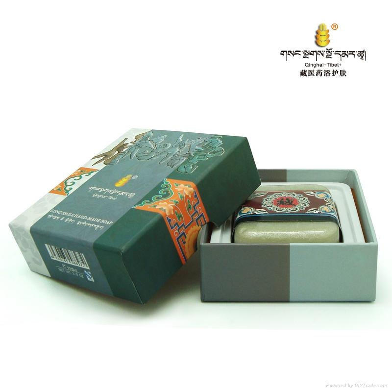 藏秘紫红盐·痘痘清水油平衡保湿皂  2