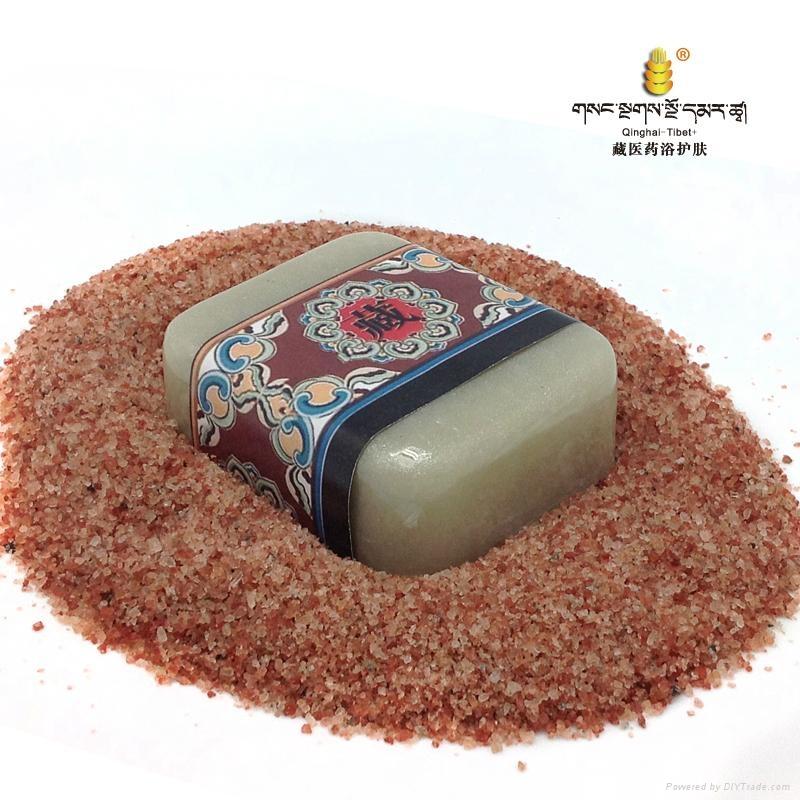 藏秘紫红盐·痘痘清水油平衡保湿皂  4