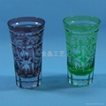 Handmade High quality Carving Craft wine glass 1