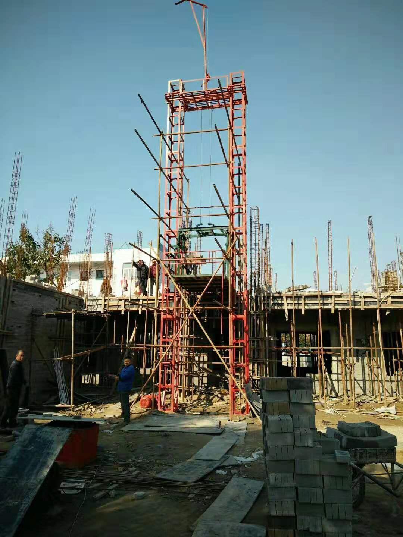 建筑施工自升龙门架 1