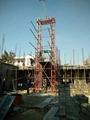 建筑施工自升龙门架