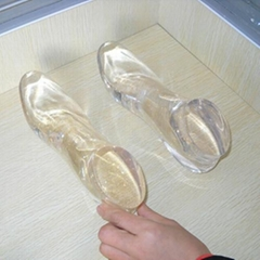 Clear Custom High Heel Acrylic Foot Display Resin Foot Mannequin for Display