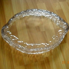 Clear Exquisite Custom Resin Tray Lucite Tray for Display