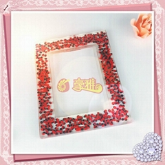 Custom Acrylic Photo Frame with Specimen Resin Picture Frame