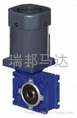 光轴马达配NMRV减速机