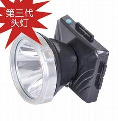 超薄型聚合物鋰電防水環保LED頭燈