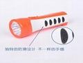 防滑LED塑料充電手電筒