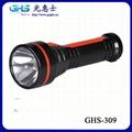 新款LED塑料充電手電筒 2
