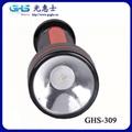 新款LED塑料充電手電筒 4