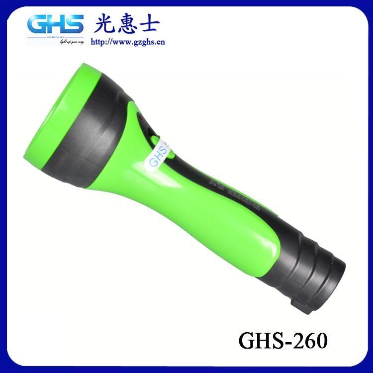 廣東LED塑料充電手電筒 1