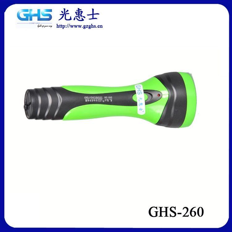 廣東LED塑料充電手電筒 2