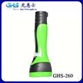 廣東LED塑料充電手電筒 3