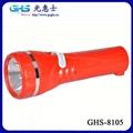 LED塑料充電手電筒