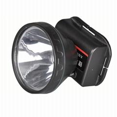 5W鋰電池LED大功率防水割膠頭燈