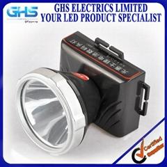 雙鋰電池頭燈