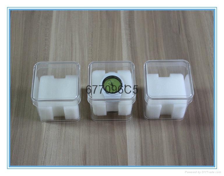 供应透明方形手表包装盒小音箱盒 1