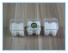 供应透明方形手表包装盒小音箱盒