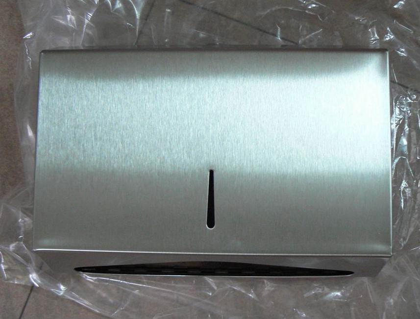 Stainless Mini C Fold Hand Towel Dispenser  1