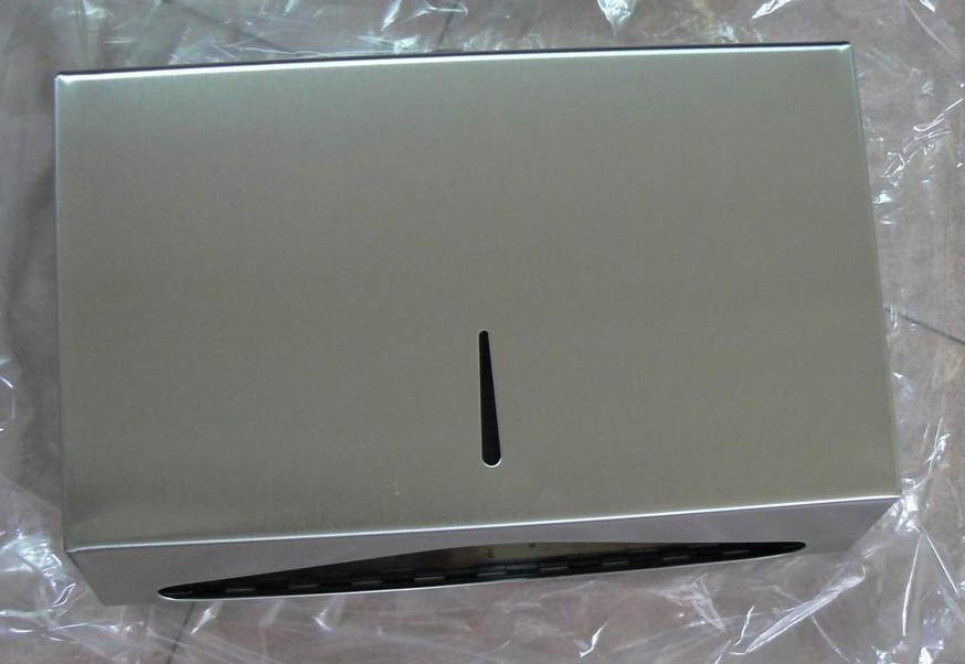 Stainless Mini C Fold Hand Towel Dispenser  2
