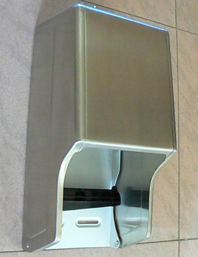 S/S Twin Roll Toilet Tissue Dispenser J-402RS 2