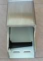S/S Twin Roll Toilet Tissue Dispenser J-402RS 3