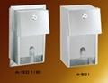 Stainless Twin  Roll Tissue Dispenser