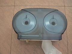 Twin Coreless Toilet Roll Dispenser
