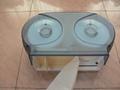 Micro Twin Toilet Roll Dispenser