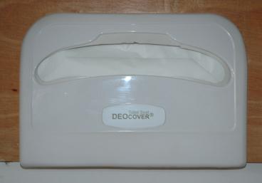 1/2 Plastic Toilet Seat Cover Dispenser 1