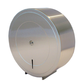 Stainless Jumbo Roll Tissue Dispenser 1