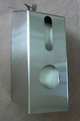 S/S Twin  Tissue Dispenser