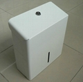 White Hand Towel Dispenser