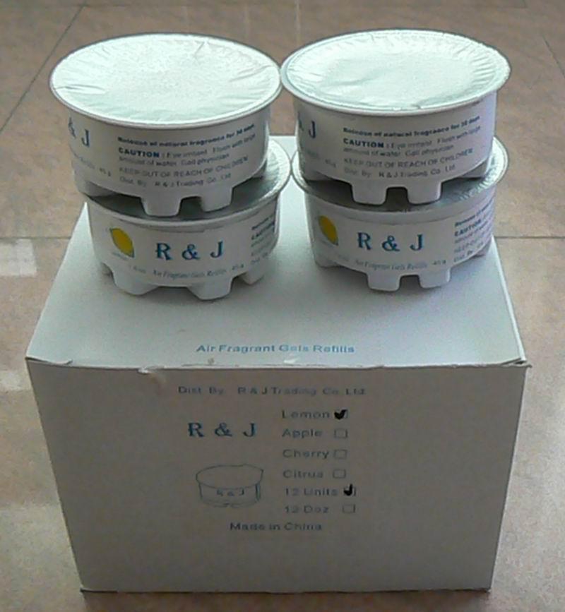 Air Freshener Gel Refills  1