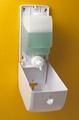 ABS Plastic Manual Soap Dispenser Black Foam Soap Dispenser 5