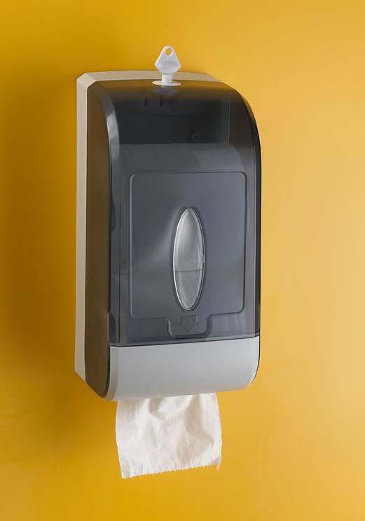 Jumbo Dual Roll Toilet Tissue Dispenser