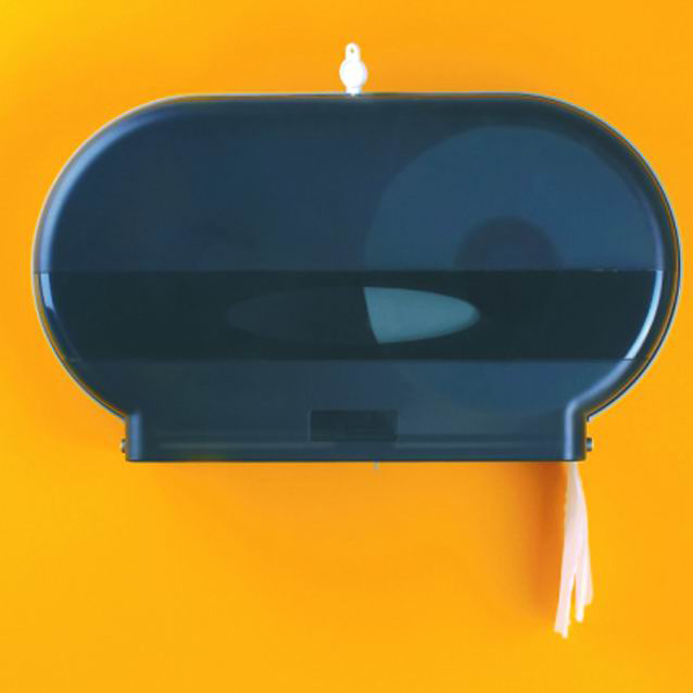 Twin Jumbo Roll Tissue Dispenser SHA-396 2
