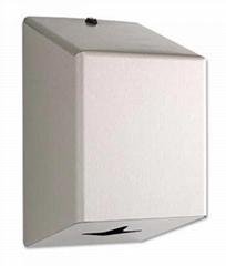 Stainless Steel Centre Pull Hand Towel Dispenser